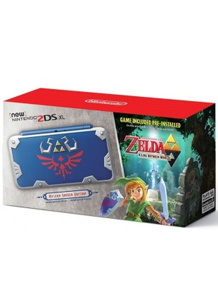Consola New Nintendo 2DS XL Hylian Shield Edition