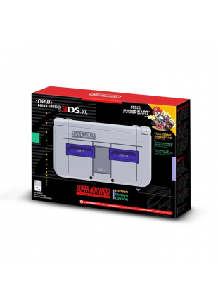 Consola New Nintendo 3DS XL Super NES Edition