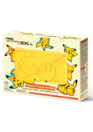 Consola New Nintendo 3DS XL Pikachu Yellow Edition