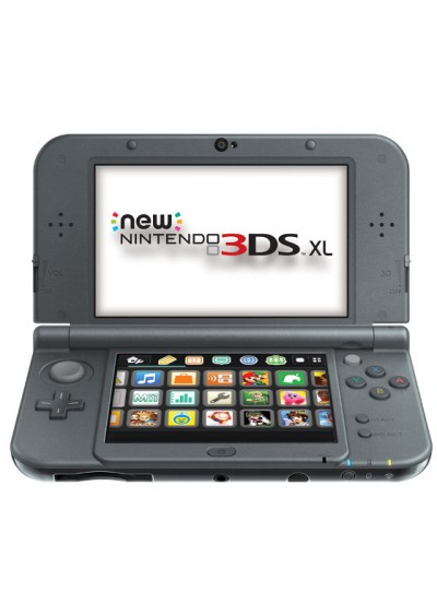 Consola New 3DS XL Black + Cargador