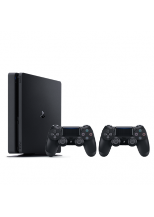 Consola Playstation 4 500 GB SLIM Black + Dualshock 4 adicional