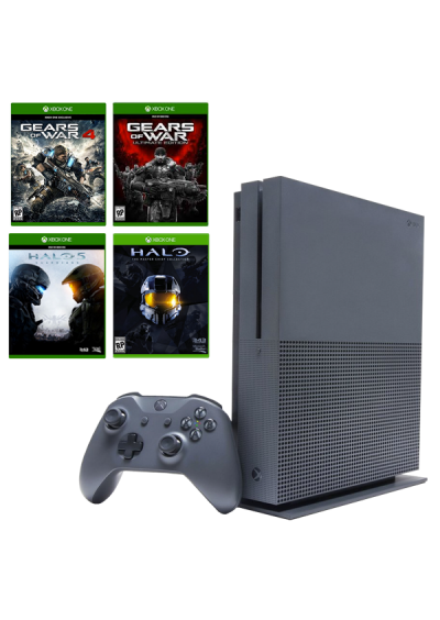 Consola Xbox ONE S 500 GB Bundle Halo & Gears of War