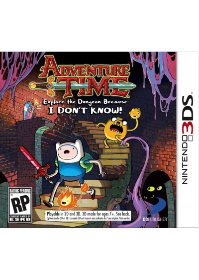Adventure Time Explore The Dungeon Because I Don't Know 3DS