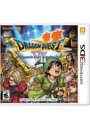 Dragon Quest VII Fragments of Forgotten Past 3DS