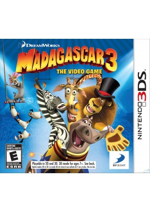Madagascar 3  The Game 3DS