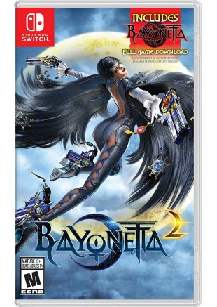Bayonetta 2 + bayonetta 1 (digital) NSW