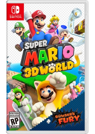 Super Mario 3D World + Bowser's Fury NSW
