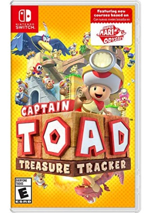 Captain Toad Treasure Tracker NSW