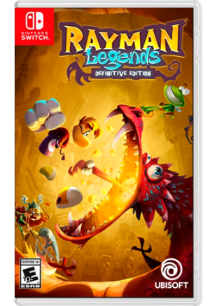 Rayman Legends Definitive Edition NSW