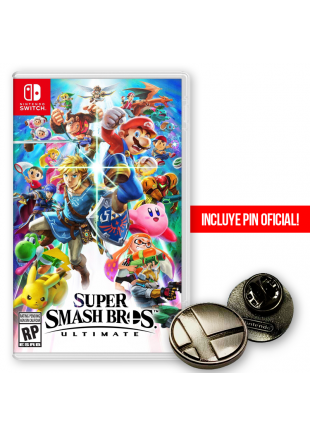 Super Smash Bros Ultimate NSW + PIN Oficial