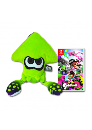 Splatoon 2 SWITCH + Peluche