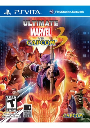 Ultimate Marvel vs Capcom 3 PS VITA