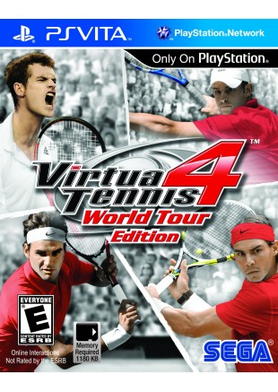 Virtua Tennis 4 World Tour PS VITA