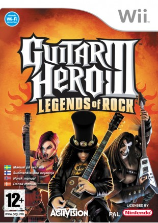 Guitar Hero III Legends Of Rock WII