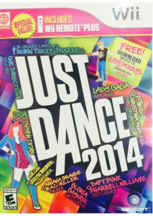 Just Dance 2014 + WII Remote Plus
