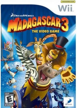 Madagascar 3: The Game Wii