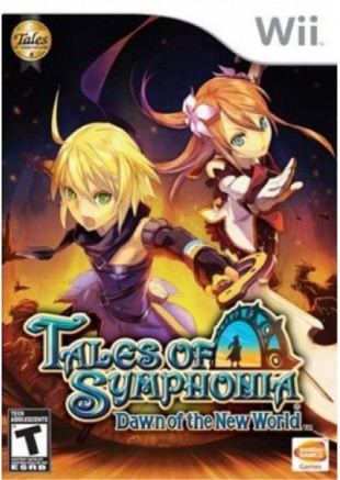 Tales of Symphonia Dawn New World Wii