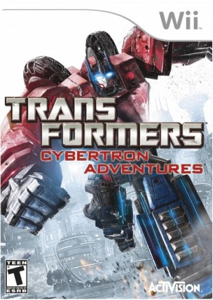 Transformers: Cybertron Adventures Wii