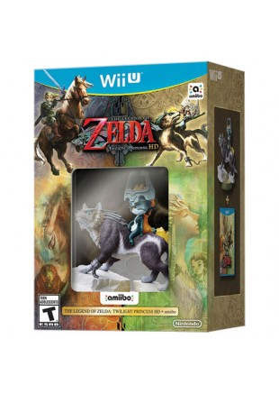 Legend of Zelda Twilight Princess HD Bundle Wii U