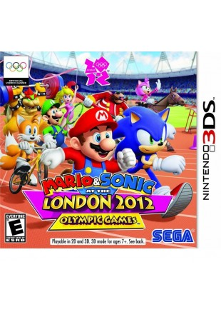 Mario & Sonic at the London 2012 Olympics 3DS
