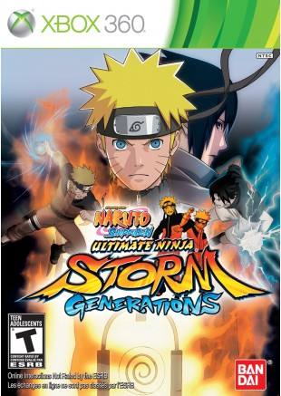Naruto Shippuden Ultimate Storm Generations XBOX 360