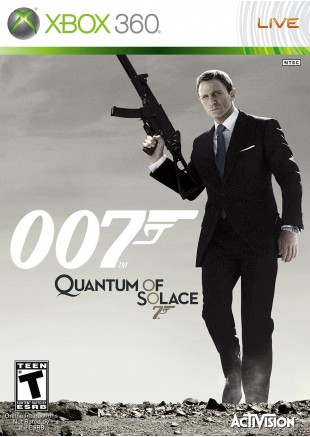 James Bond 007 Quantum of Solace XBOX 360