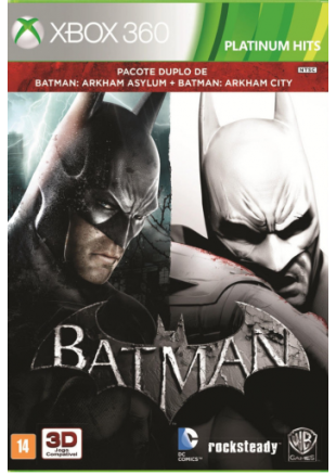 Batman Arkham Asylum + Batman Arkham City Dual Pack XBOX 360