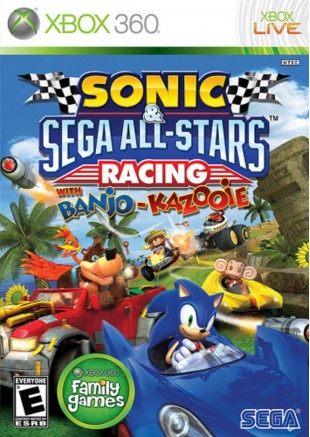 Sonic & Sega All Stars Racing XBOX 360