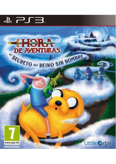 Adventure Time Secret of Nameless Kingdom PS3