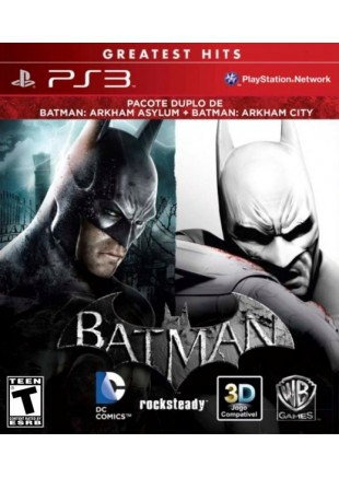 Batman Arkham Asylum + Batman Arkham City Dual Pack