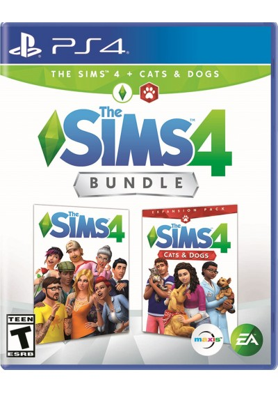 The Sims 4 + Cats and Dogs PS4
