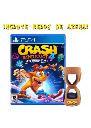 Crash Bandicoot 4: It's About Time PS4 + Reloj Exclusivo