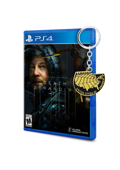 Death Stranding PS4 + Llavero exclusivo