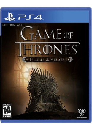 Game of Thrones: A Telltale Games Series PS4