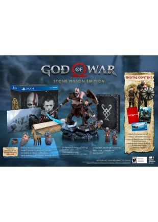 God of War 4 Stone Mason's Edition PS4