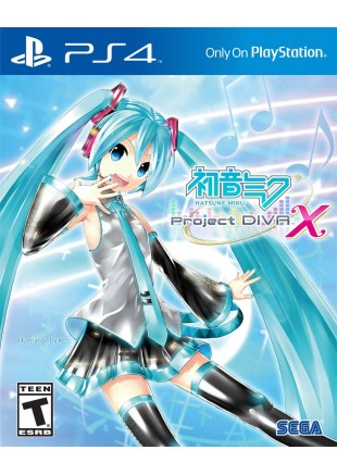 Hatsune Miku Project Diva X PS4