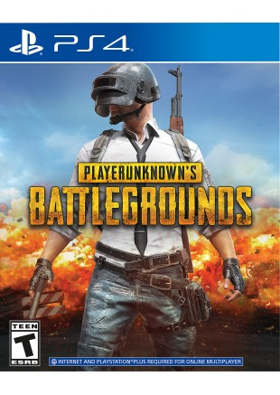 PUBG: Player Unknown's Battlegrounds PS4