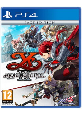 YS IX: Monstrum Nox Pact Edition PS4