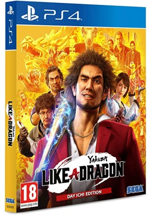 Yakuza: Like a Dragon Day Ichi edition STEELBOOK PS4
