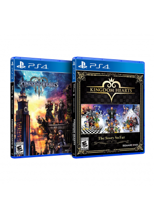 Kingdom Hearts Pack 1.5 + 2.5 + 2.8 + 3 PS4