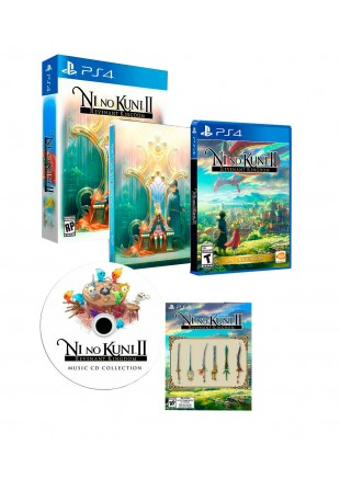 Ni no Kuni II: Revenant Kingdom Premium Edition PS4