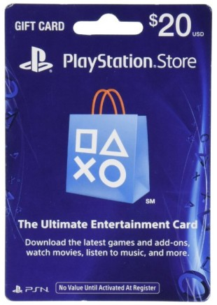 Tarjeta PSN PlayStation Network 20 USD (DIGITAL)