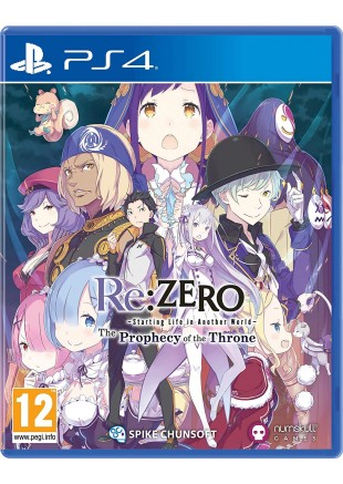 Re:ZERO: Starting Life in Another World- The Prophecy of the Throne PS4