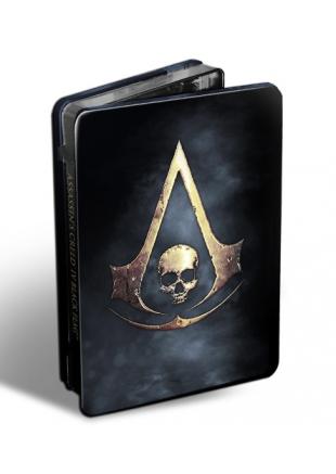 Assassin's Creed IV Black Flag Steelbook + OST XBOX 360