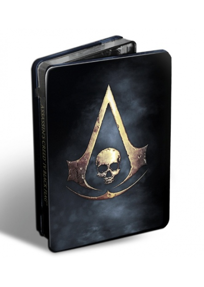 Assassin's Creed IV Black Flag Steelbook + OST XBOX 360
