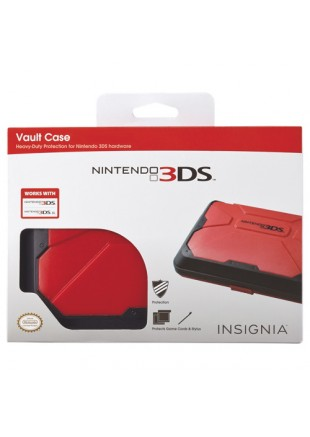 Vault Case Nintendo 3DS/ 3DS XL Red