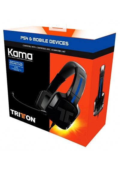 Headset Stereo KAMA TRITTON Blue PS4 / XONE / SWITCH / PC