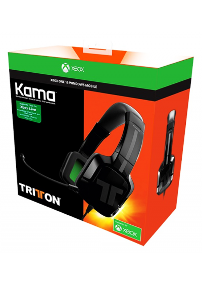 Headset Stereo KAMA TRITTON Green PS4 / XONE / SWITCH / PC
