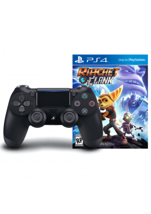 DualShock 4 Black PS4 + Ratchet And Clank