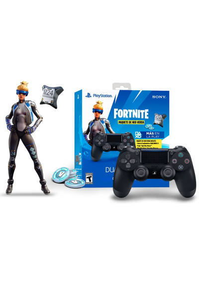 Control DualShock 4 Neo Versa Fortnite Bundle PS4